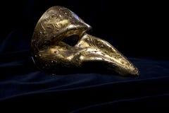 Italian Masquerade Masks on Black Background. Stunning Masquerade Masks on Black Background stock image