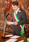 Italian mayor Stock Photography