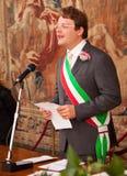 Italian mayor Stock Image