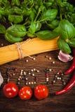 Italian meal Royalty Free Stock Image