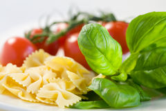 Italian meal ingredients Stock Photography