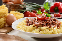 Italian meal Stock Photography
