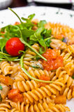 Italian meat sauce noodles Royalty Free Stock Images