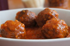 Italian Meatballs Stock Photos