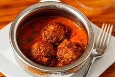 Italian Meatballs Stock Photos