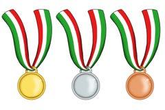 Italian medals Stock Image