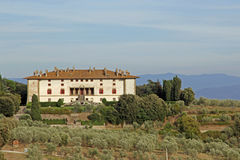 Italian Medici villa Stock Image