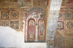 Italian medieval religious art. Royalty Free Stock Photography