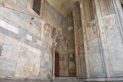 Italian medieval religious art. Stock Image