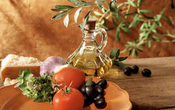 Italian and mediterranean setting Royalty Free Stock Image