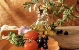 Italian and mediterranean setting Royalty Free Stock Image