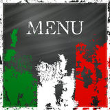 Italian Menu Design Stock Photos
