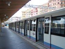 Italian Metro. A metro train in Italy royalty free stock photos