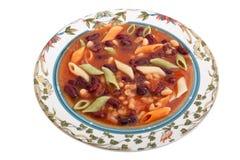 Italian minestrone soup Stock Photos