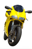 Italian Motorcycle. An motorcycle, very sporty, of a foreign style Stock Photo