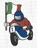 Italian motorcycle Stock Images