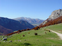 Italian mountain landscape Stock Photos