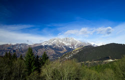 Italian mountain landscape Royalty Free Stock Photography
