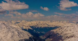 Italian Mountain View Timelapse 4k stock video footage