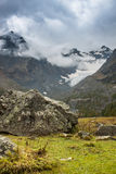 Italian mountains, Alps in Valmalenco Royalty Free Stock Photos