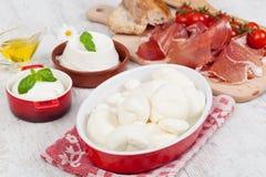 Italian Mozzarella Stock Image