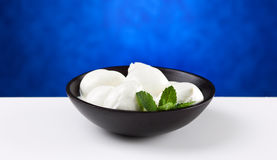 Italian mozzarella Stock Photos