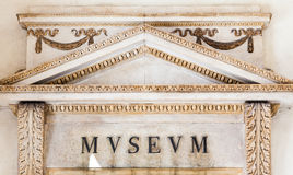Italian Museum Entrance Royalty Free Stock Images