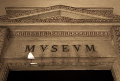 Italian Museum Entrance Royalty Free Stock Photos