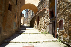 Italian narrow street Stock Images