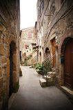 Italian narrow street Stock Photography