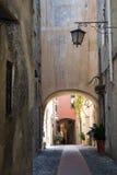 Italian narrow street Royalty Free Stock Photography