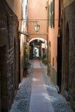 Italian narrow street Stock Photography