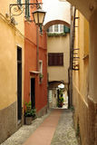 Italian narrow street Stock Image