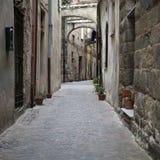 Italian narrow street Royalty Free Stock Photo