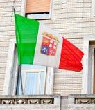 Italian Nautical Flag Royalty Free Stock Photos