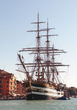 Italian naval training tall ship Royalty Free Stock Image