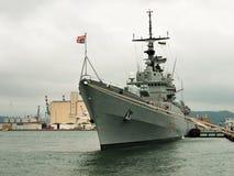 Italian navy destroyer - Grecale Royalty Free Stock Image