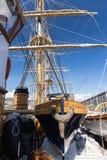 Italian Navy Ship, Amerigo Vespucci Royalty Free Stock Photography