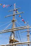 Italian Navy Ship, Amerigo Vespucci Royalty Free Stock Photos