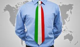 Italian necktie Stock Image