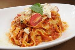 Italian noodles Stock Photos