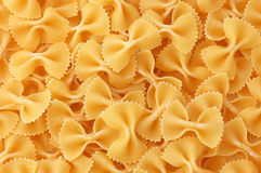 Italian Noodles Farfalle Stock Images