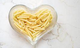 Italian noodles, macaroni Stock Images