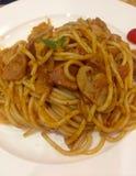 Italian noodles Royalty Free Stock Photos
