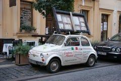 Italian old car, budapest Royalty Free Stock Image
