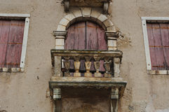 Italian old houses Royalty Free Stock Images