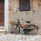 Italian old-style bicycles Royalty Free Stock Photo