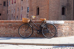 Italian old-style bicycles Stock Image
