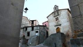 Italian old village stock video