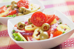 Italian olive salad Royalty Free Stock Photo
